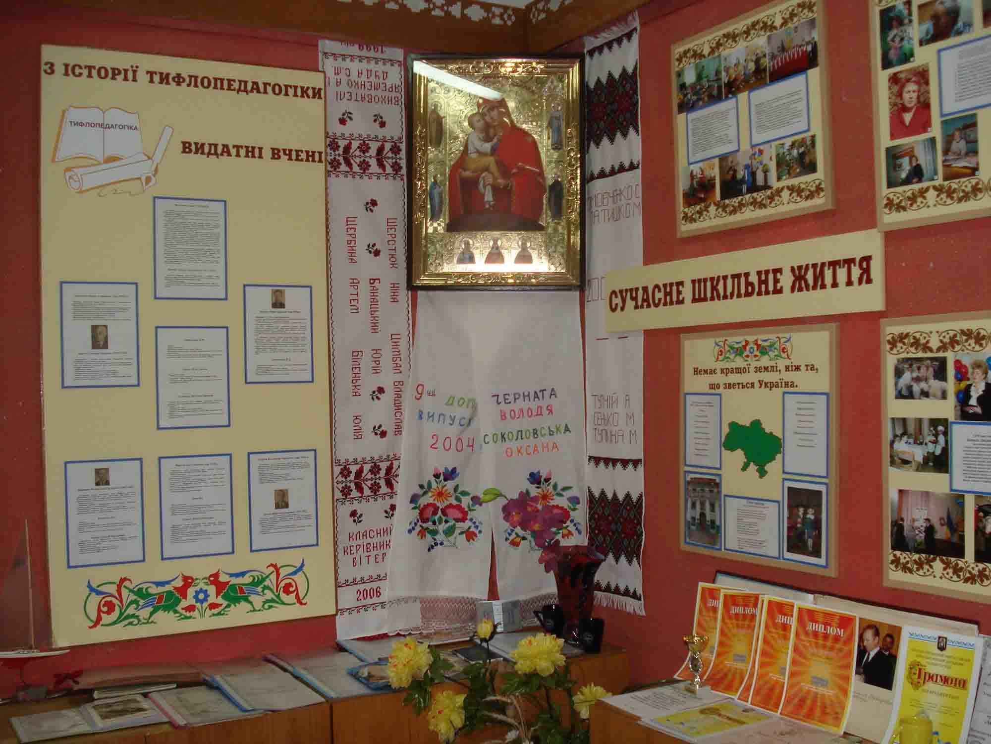 Школа-інтернат №5 ім. Я.П.Батюка - Музей