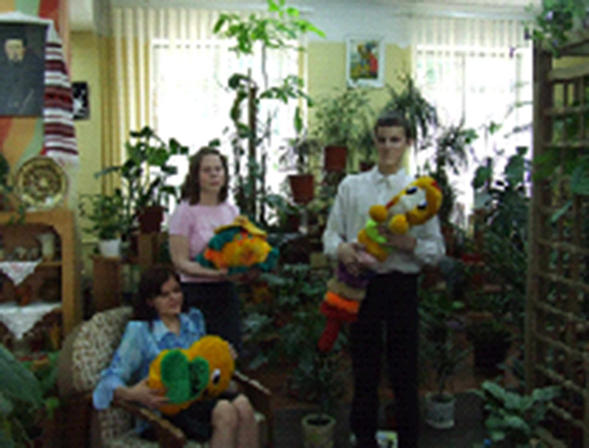 Школа-інтернат №5 ім. Я.П.Батюка - Зимовий сад